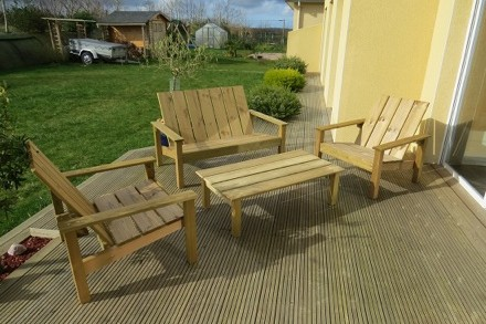 Salons de jardins et chaise longue Club | Tootan