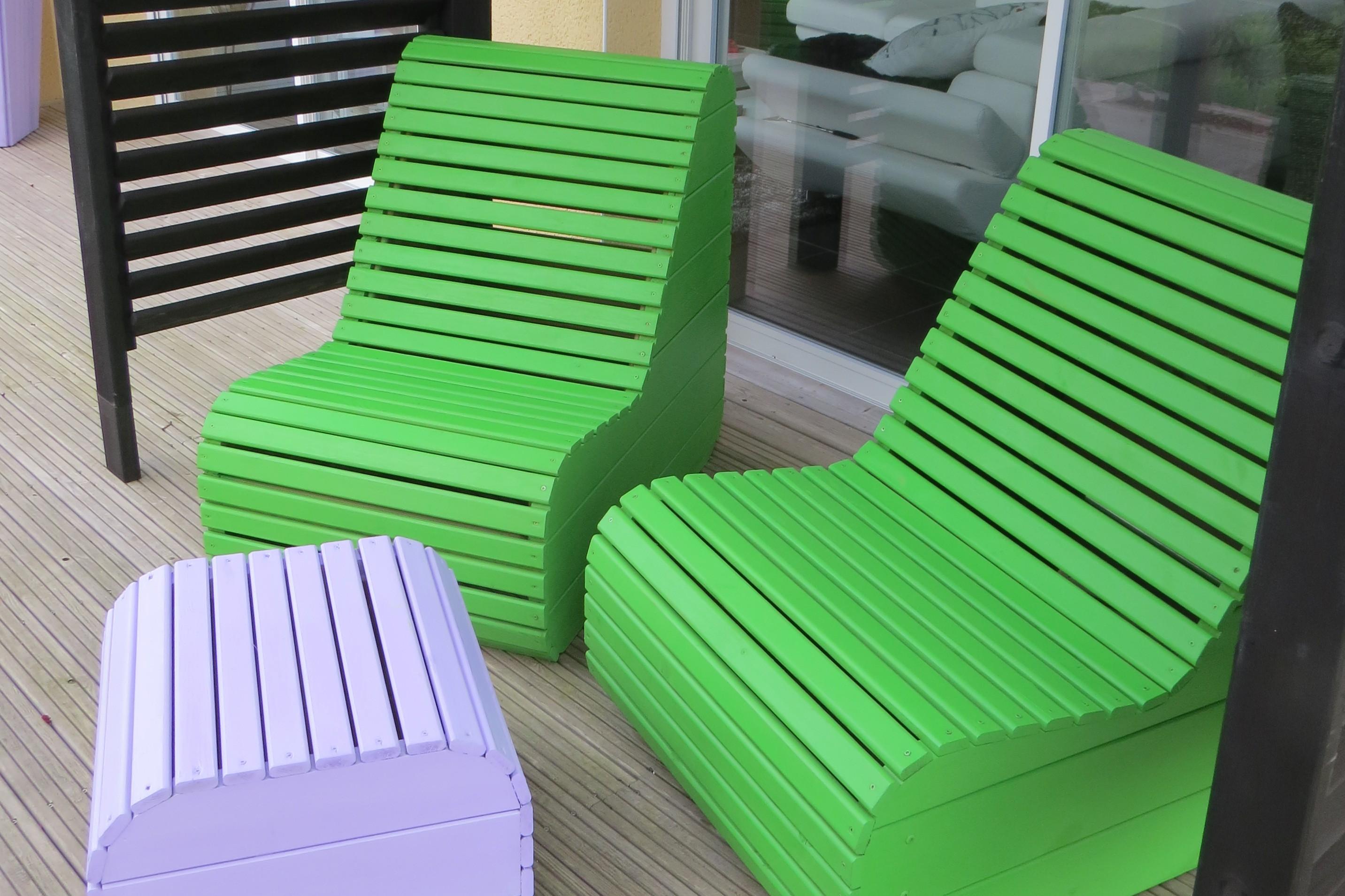 Salons de jardins et chaise longue Sun | Tootan