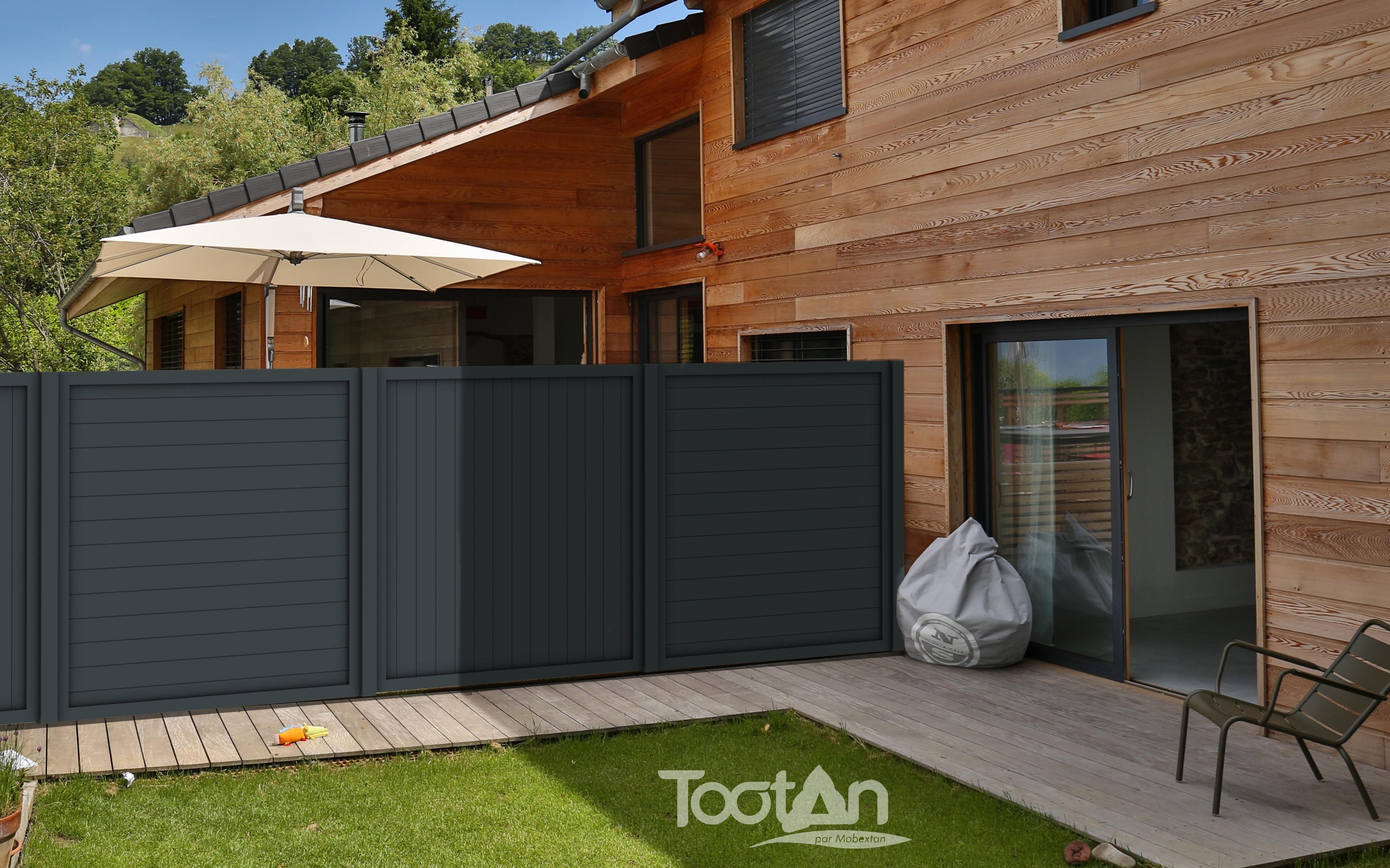 Tootan le bois cadre d 39 envie for Palissade bois exterieur