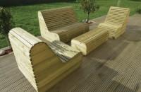 salons de jardins et chaises longues